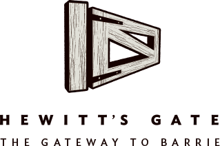 Hewitt's gate barrie logo pratt homes